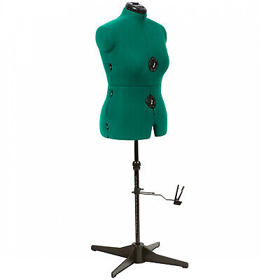 Female Adjustable Mannequin Dress Form Full Body Stand Medium Precise Sewing New