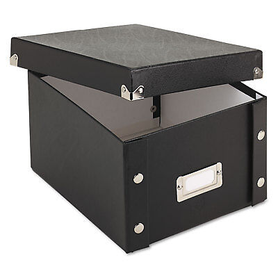 Snap-N-Store Collapsible Index Card File Box Holds 1 100 5 x 8 Cards (Collapsible Index Card File Box)