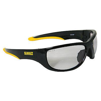 Dewalt Dominator Safety Glasses With Indoor Outdoor Lens Black Frame