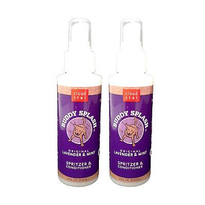 - Cloud Star Buddy Splash Spritzer & Conditioner, Lavender/Mint 4 Ounce (2 PACK)