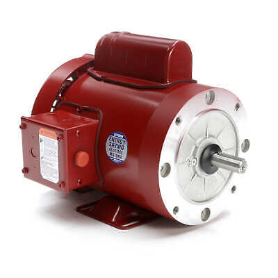 Leeson Electric Motor 116487.00 34 Hp 1725 Rpm 1ph 115208-230 Volt 56c Frame