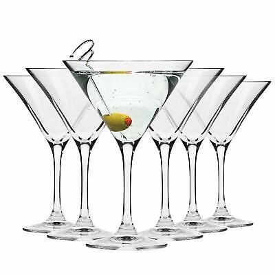 Krosno Bicchieri Cocktail Martini Bar Vetro Coppa | Set di 6 | 150 ML | (j2Q)