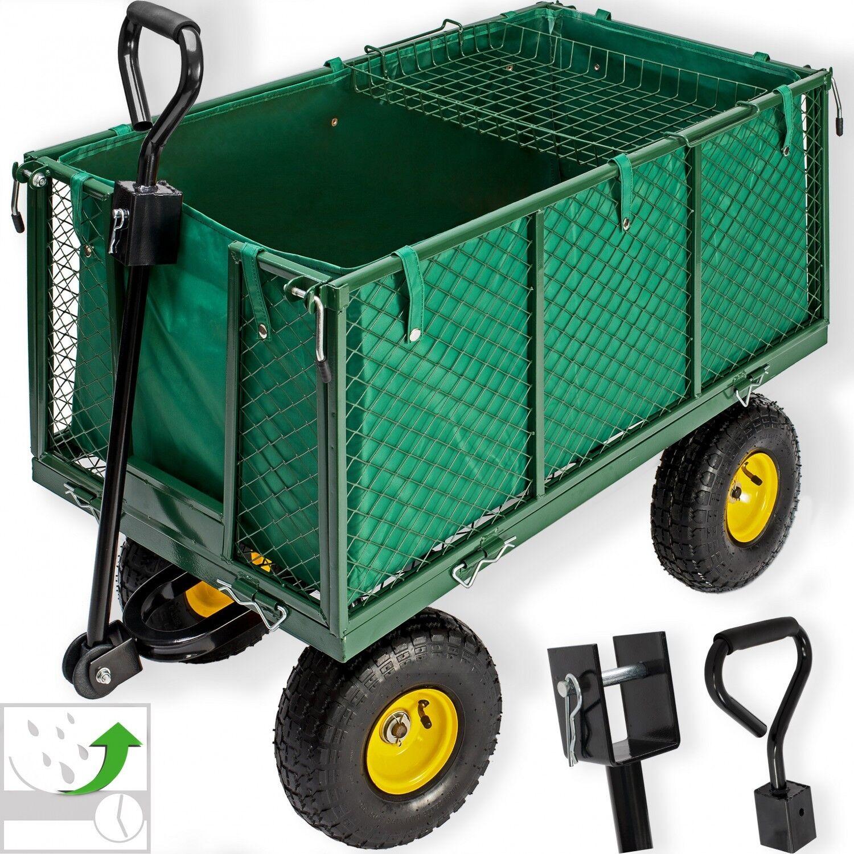 Kesser® Bollerwagen 550kg Transportwagen Gartenwagen Gerätewagen Handwagen Power