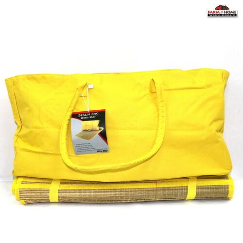 XL Beach Yoga Mat & Tote Bag ~ New