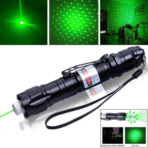 990 Miles 532nm Green Laser Pointer Pen Amazing Star Beam Astronomy Light Laser