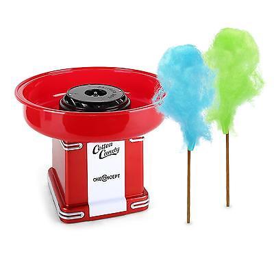 Zuckerwatte Maschine Zuckerwattemaschine Profi Gastro 500W Rot Zucker Dosierer