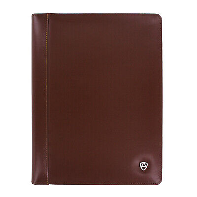 Armiger Executive Bonded Leather Professional Padfolio With Letter Size Notepad