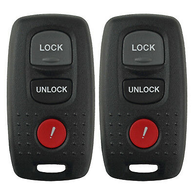 2 New W Oem Factory Electronics Remote Key Keyless Fob 2004 2005 04 05 Mazda 3