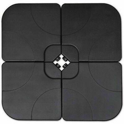 15kg Black Parasol Base Concrete Square Heavy Duty Portable Umbrella Stand