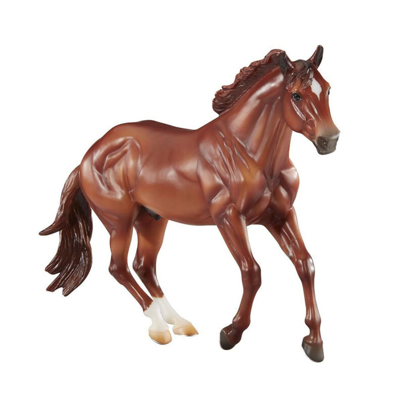 Breyer 1831 Hand-Painted Checkers Horse Model Collectible Toy 1:9 Scale, Brown