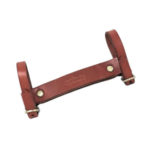 Bicycle Lifter Brown Leather for Bike Frame Handle