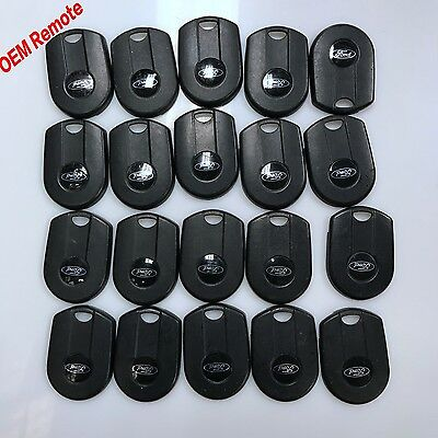 20PCS FACTORY FORD LOGO LOT OF 20 KEY BACKS REMOTE SHELL BACKS OEM OUCD6000022