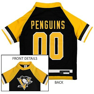 - Pittsburgh Penguins NHL Pets First Licensed Dog Pet Hockey Jersey Sizes XS-XL