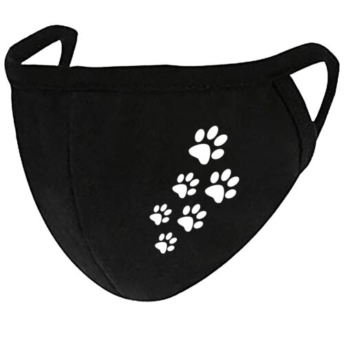 Cat Paws - Face Mask Cover Fashion 2 Layers + Pocket Custom Made in US