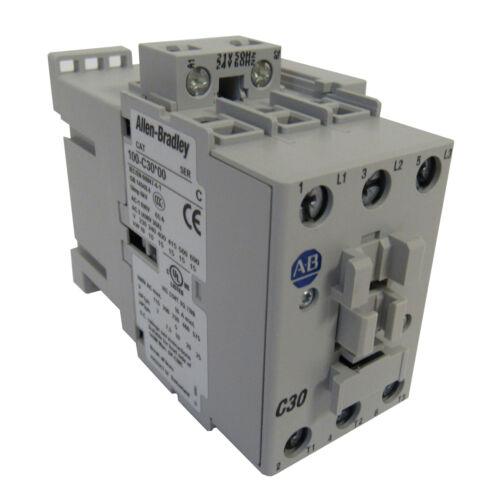 NEW ALLEN-BRADLEY IEC 100C30J10 STANDARD CONTACTOR 30 AMP 24VAC NEW IN BOX