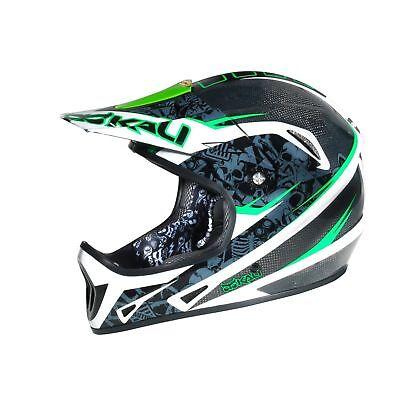 Kali Avatar 2 XS:53-54cm MTB DH Carbon Fiber Helmet Casco Fibra de...