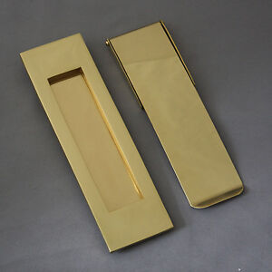 Brass Vertical Letterbox and Tidy
