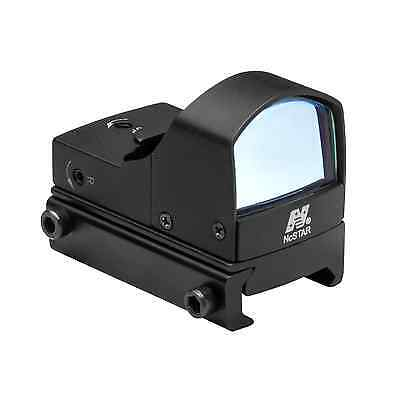Ncstar Tactical Micro Blue Dot Led Reflex Optic Sight Weaver Picatinny Mount
