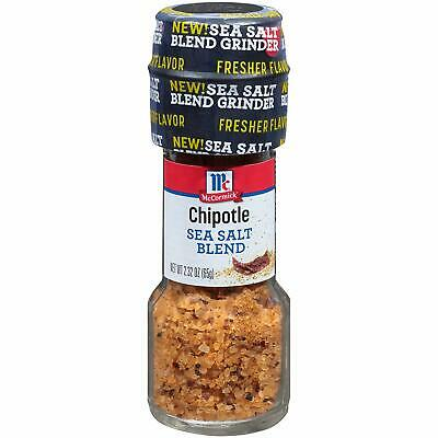 McCormick Chipotle Sea Salt Blend Grinder 2.32 oz