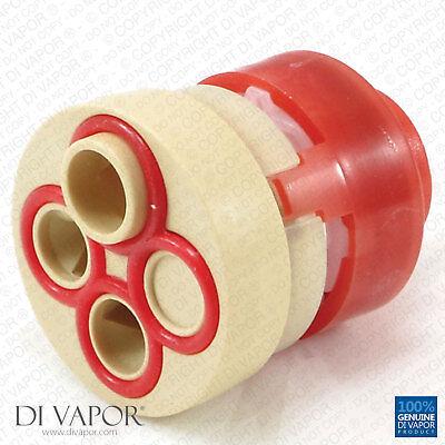 Vado HUB-001G-DIV Diverter Cartridge 148/2 Valve - 4 Way Diverter - Red Housing