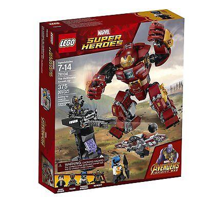 Lego Marvel Super Heroes Avengers Infinity War The Hulkbuster Smash Up Kit