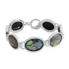New Abalone Shell Bracelet 7.5 In