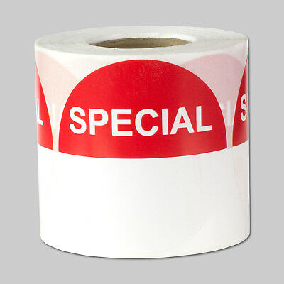 Special Retail Blank Labels With Writing Space Discount Stickers 2 Round 1pk