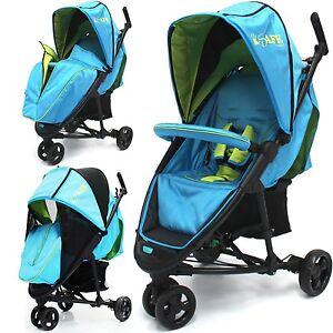 Baby Stroller iSafe 3 Wheeler Pram Buggy  Visual 3 - Apple Slice