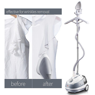 2700ml Professional Garment Clothes Fabric Steamer Portable Wrinkle Remover Iron