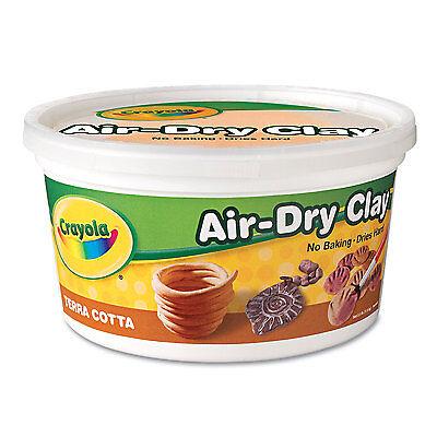 Crayola Air-Dry Clay Terra Cotta 2 1/2 lbs 575064