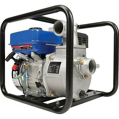 Portable Water Pump - 2 In And Out - 158 Gpm - 7 Hp - Gas Engine - 92 Ft Head