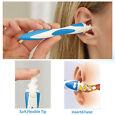 Smart Swab Cerume Rimozione Pulitore Orecchie Morbide Spirale EAR Cleaner