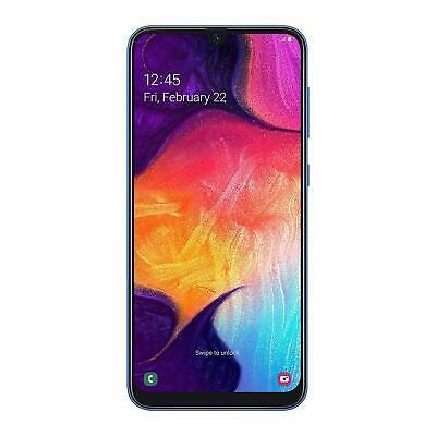 "SAMSUNG GALAXY A50 A505 2019 6.4"" 128 GB DUAL SIM BLU GARANZIA ITALIA BRAND"