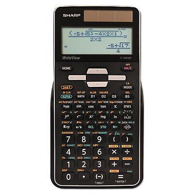 Sharp EL-W516TBSL Scientific Calculator 16-Digit LCD ELW516TBSL
