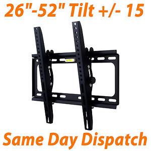 New-Tilt-Tilting-LCD-LED-Plasma-VESA-Inch-For-Universal-3D-TV-Wall-Mount-Bracket