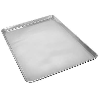 Commercial Grade 18 x 13 Half Size Aluminum Sheet Pan for Baking Bread Cookie