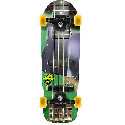 Element Skateboards Bad Brains Green Monster Bass Complete Skateboard