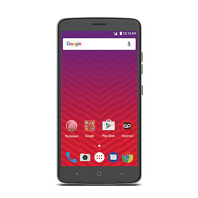 Zte Max Xl 6  Android 16Gb Lte Smartphone   Virgin Mobile   New