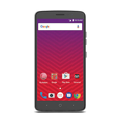 """ZTE Max XL 6"""" Android 16GB LTE Smartphone - Virgin Mobile -"""