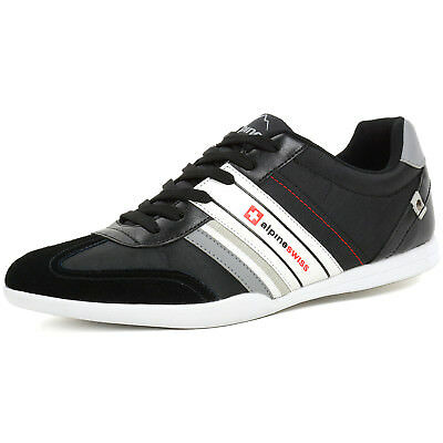 AlpineSwiss Ivan Mens Tennis Shoes Fashion Sneakers Retro Classic Tennies Casual
