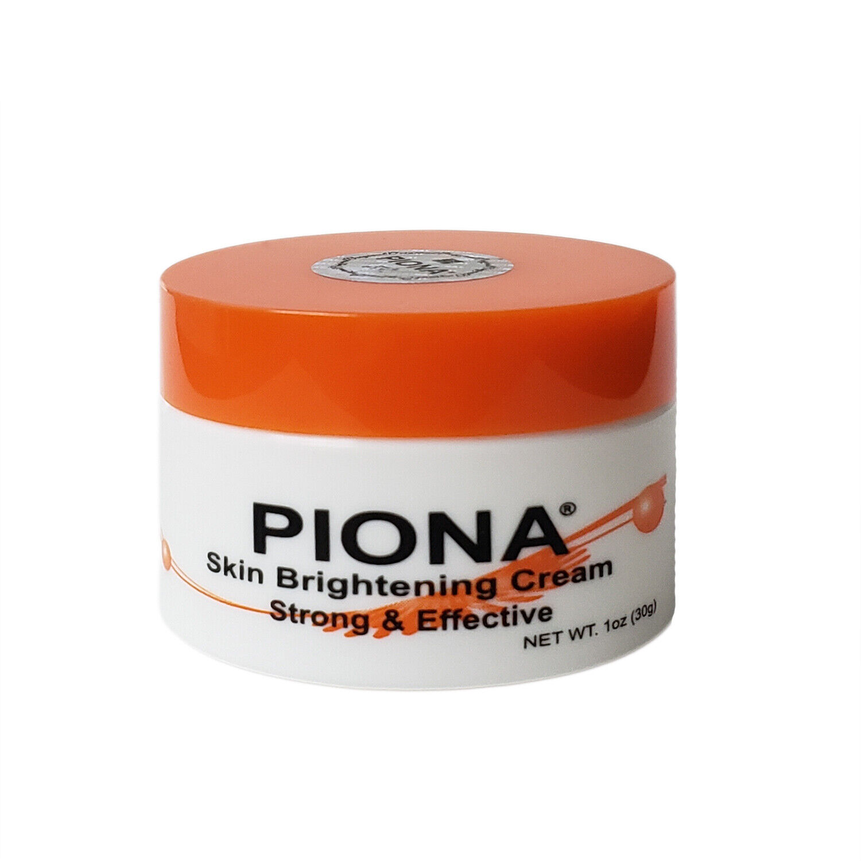 Piona Skin Brightening Cream 1 Ounce (30 Grams) New Formulation Health & Beauty
