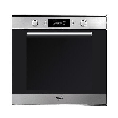 Whirlpool AKZM778IX Built-in Single Electric Oven 59.5 cm Stainless Steel New