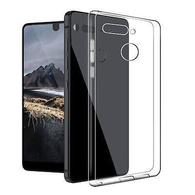 Essential Phone PH-1 Case Cresee Crystal Clear Case Flexible Soft TPU Gel... New