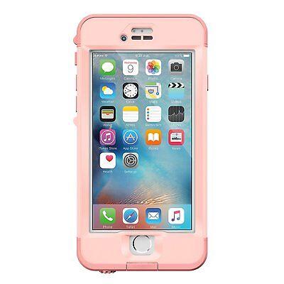 """New Lifeproof NUUD Waterproof Case For Apple iPhone 6 Plus & 6s Plus 5.5"""" Pink"""