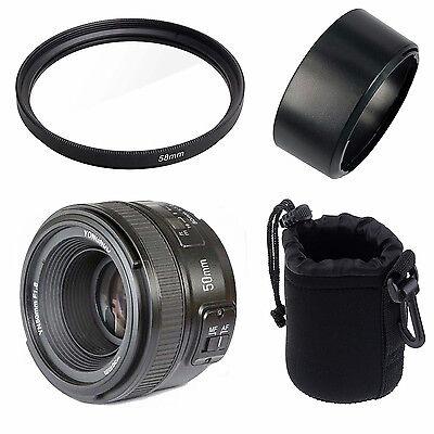 YONGNUO YN 50mm f/1.8 AF Lens YN50 Auto Focus for Nikon Cameras AF-S 50mm