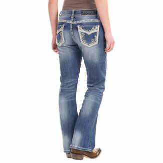 ROCK&ROLL boot cut JEANS from America.   size 30' / 10
