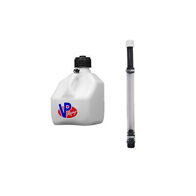 Race Fuel Gas Can Jug VP Transfer Hose Spout Track