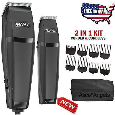 Haircutting Clipper - Hair Cutting Kit Cordless Hair Clippers Machine Trimmer MEN Grooming Barber Set