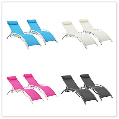 - Adjustable Pool Chaise Lounge Chair Recliner Outdoor Patio Furniture