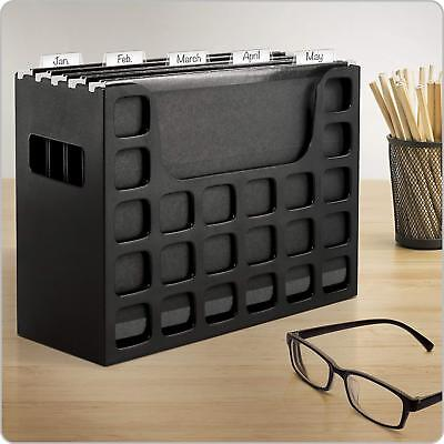 - Desktop File Box File Folders Hanging Letter Size Office File Cabinet Tab Insert
